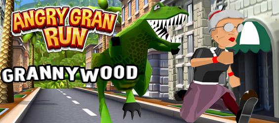 Angry Gran Run: Granny Wood