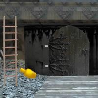 Image Collapsed theatre escape