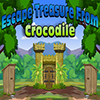 Escape Treasure From Crocodile