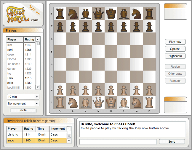 Image Chess Hotel Multiplayer