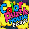 Color Puzzle House Escape