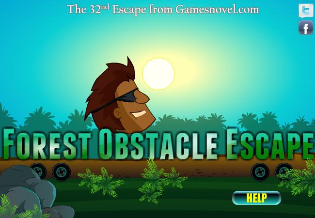 Image Forest Obstacle Escape