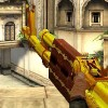 Gold AK 47