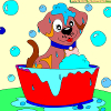 Kids coloring Charming Puppy