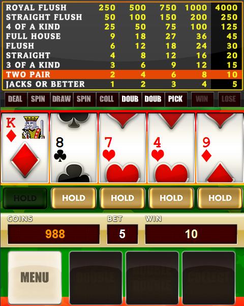 Image Poker Slot Reels