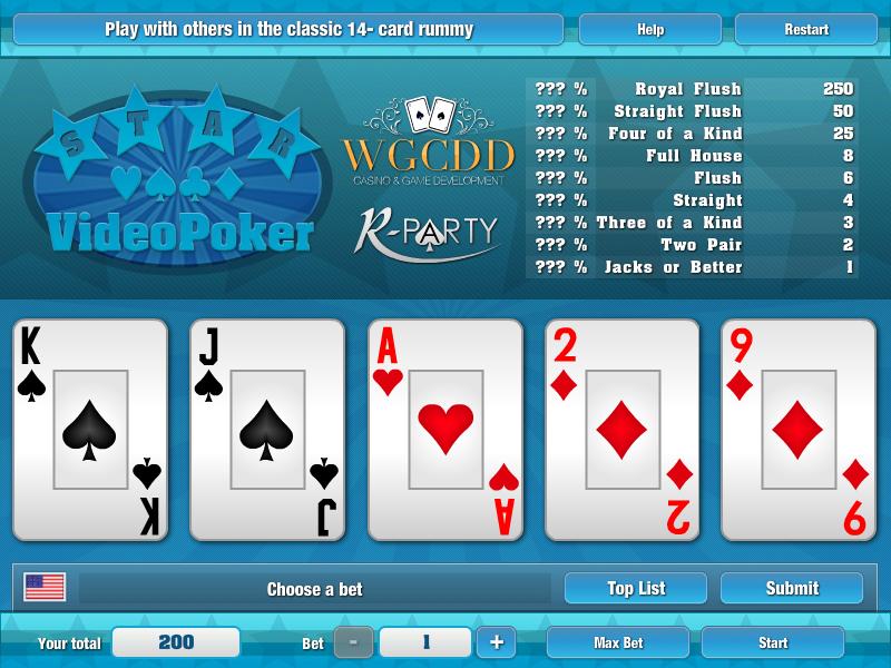 Image Star Video Poker