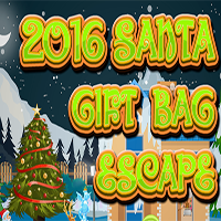 2016 Santa Gift Bag Escape Games2Jolly