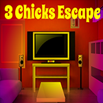 3 Chicks Escape Games4King