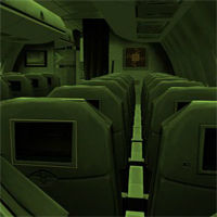 Abandoned Army Jet Escape HiddenOGames