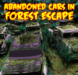 Abandoned Cars In Forest Escape GamesNovel