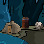 Abandoned Cave Escape GenieFunGames