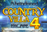 Abandoned Country Villa Escape 4 FirstEscapeGames