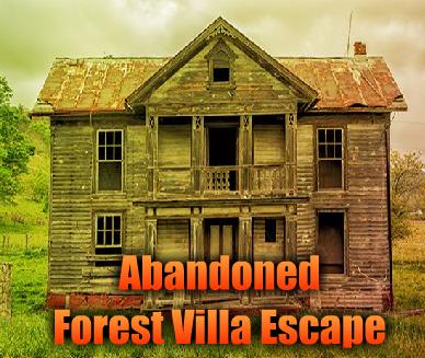 Abandoned Forest Villa Escape GamesNovel