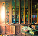 Abandoned Library Escape EightGames
