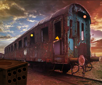 Abandoned Train Garage Escape FirstEscapeGames