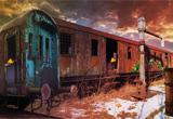 Abandoned Train Treasure Escape First Escape Games