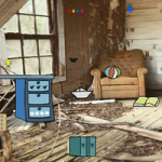Abandoned Wooden Room Escape GenieFunGames