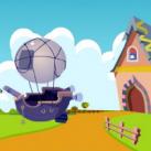 Air Balloon Rescue EscapeGamesZone
