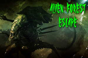 Alien Forest Escape CrazyEscapeGames