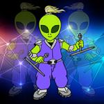Alien Warrior Rescue Games2Jolly