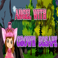 Angel With Crown Escape Games2Jolly