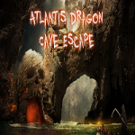Atlantis Dragon Cave Escape FreeRoomEscape