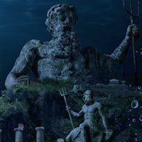 Atlantis Underwater Lost City Escape HiddenOGames