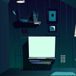 Attic Room Night Escape GenieFunGames