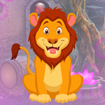 Awe Lion Escape Games4King