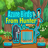 Azure Birds From Hunter