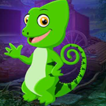 Baby Chameleon Escape Games4King
