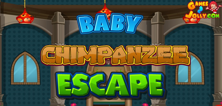 Baby Chimpanzee Escape Games2Jolly