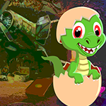 Baby Dinosaur Rescue Games4King