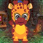 Baby Giraffe Rescue Games4King