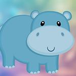 Baby Hippo Escape Games4King