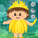 Banana Costume Boy Escape Games4King