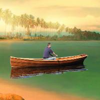 Beach Boat Man Escape EscapeGamesZone