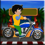 Beach Road Bike Escape Games2Jolly