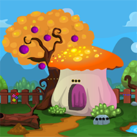 Bear Rescue From Mushroom House Escape007Games