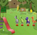 Beautiful Kids Park Escape EightGames