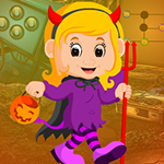 Beautiful Witch Girl Escape Games4King
