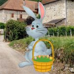 Big Easter Bunny Land Escape BigEscapeGames