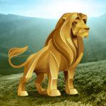 Big Gold Lion Land Escape BigEscapeGames