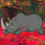Big Rhinoceros Forest Escape BigEscapeGames