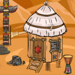 Billy Tribal Hut Escape GenieFunGames