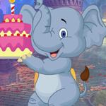 Birthday Elephant Escape Games4King