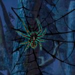 Black Widow Spider Forest Escape WowEscape