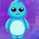 Blue Calmness Creature Escape Games4King