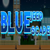 Blue Jeep Escape EscapeGamesToday