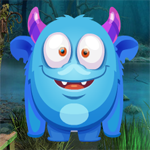 Blue Monster Rescue Games4King